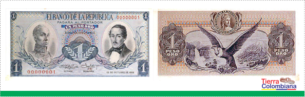 billete 1 pesos antiguo