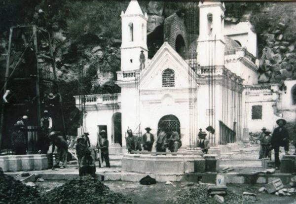 tercer templo en las lajas