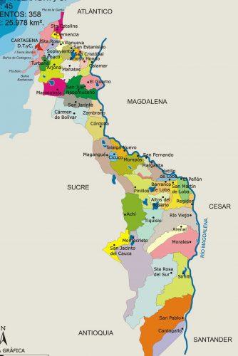 municipios de bolivar