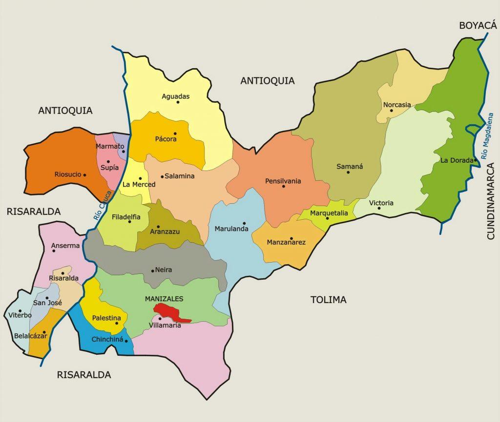 municipios de caldas