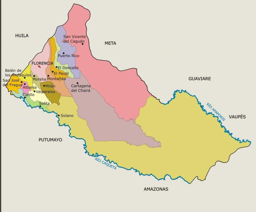 municipios de caqueta