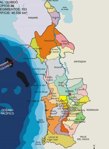 municipios de choco