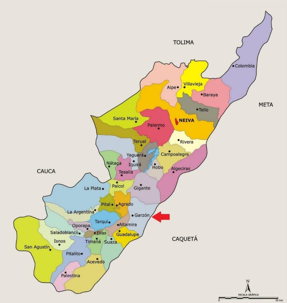 municipios de huila