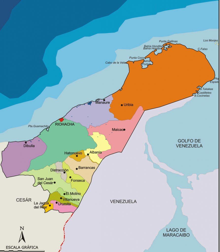 municipios de la guajira