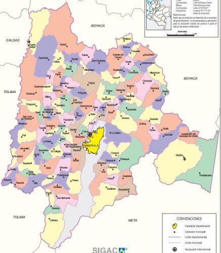 municipios de cundinamarca