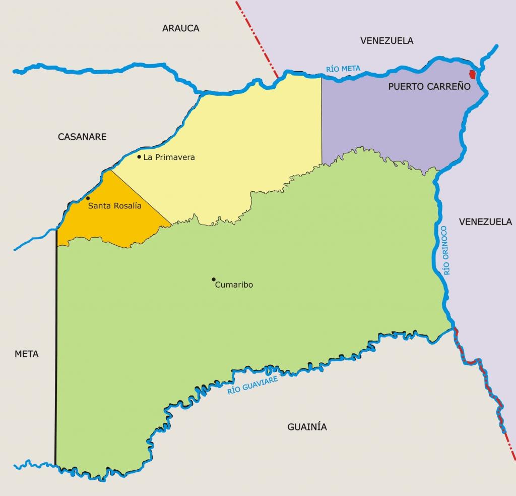 municipios de vichada