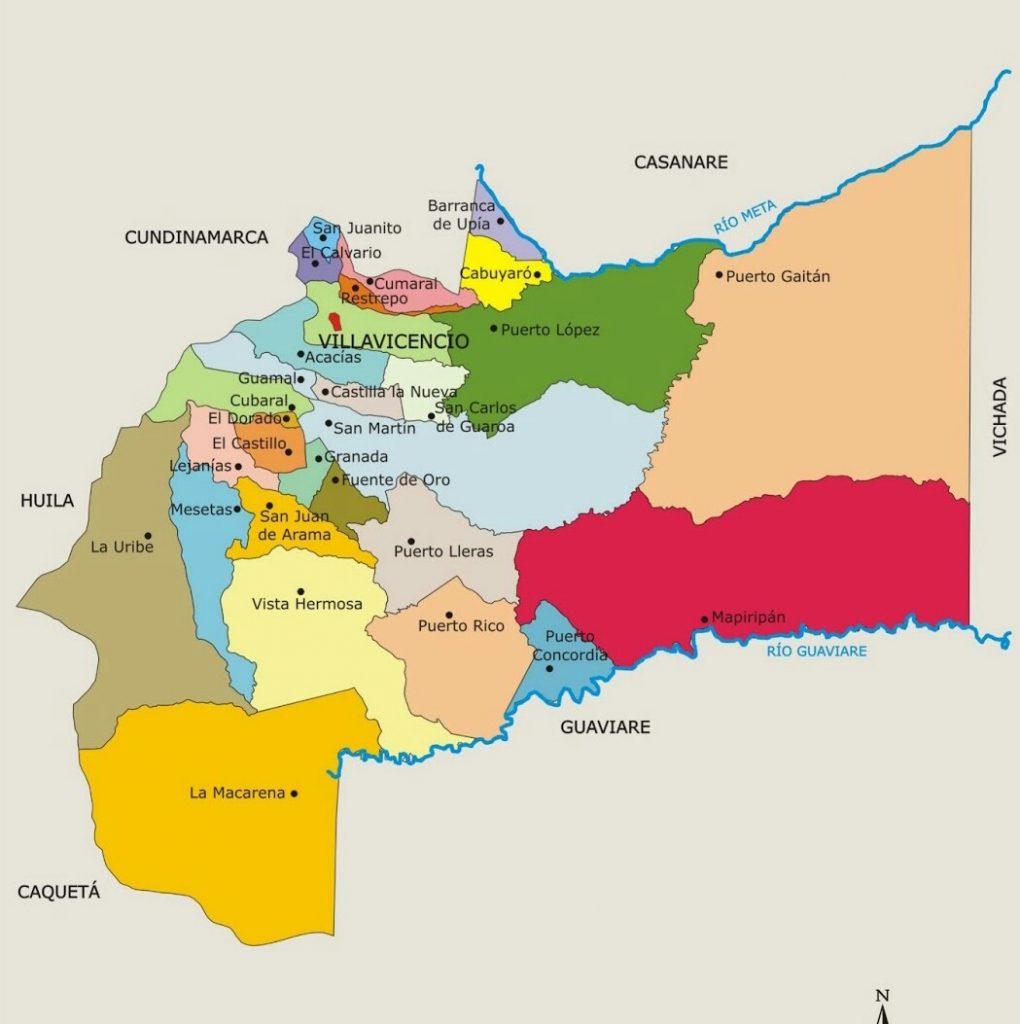 municipios de meta