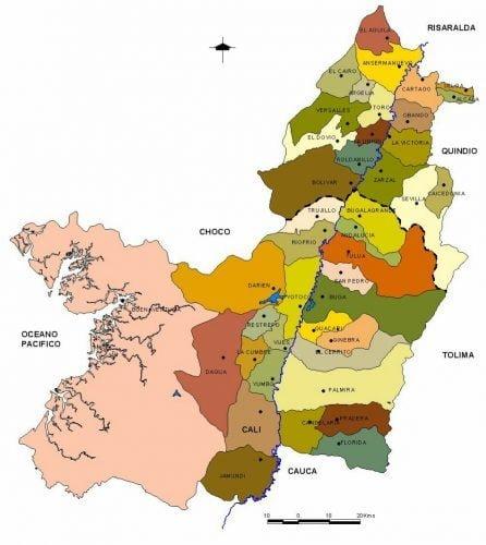municipios de valle del cauca