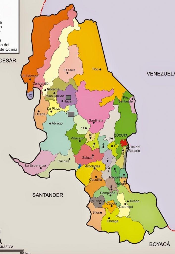 municipios de norte de santander