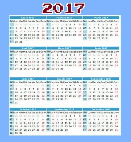 dias festivos en colombia 2017
