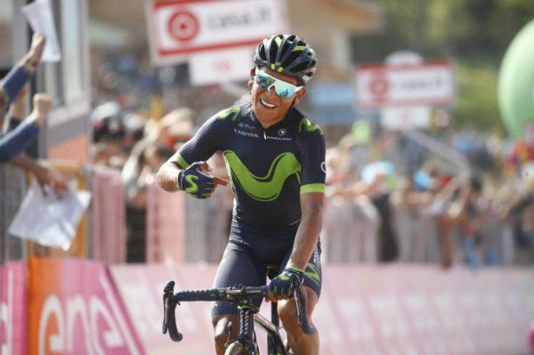 Nairo Quintana en la meta