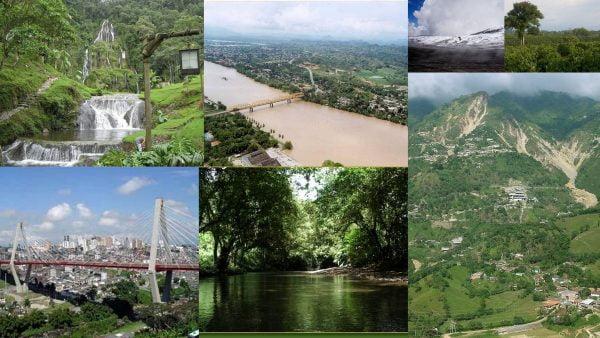Collage de imágenes referentes a la Región Andina; Fotografía tomada de Internet.