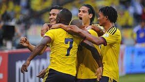 Integrantes de la Selección Colombia; Fotografía tomada de Internet