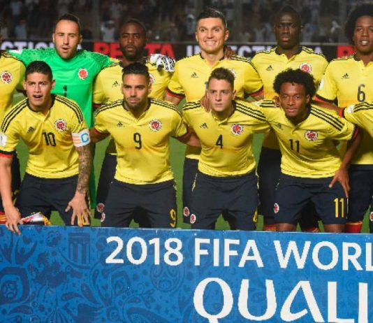 seleccion colombia 2018