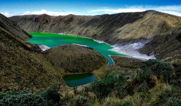 Laguna verde - Narino