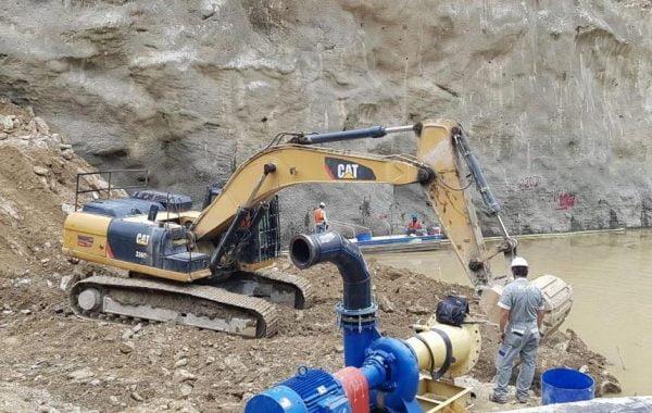 Obras proyecto hidroelectrico hidroituango; Fotografía tomada de internet.
