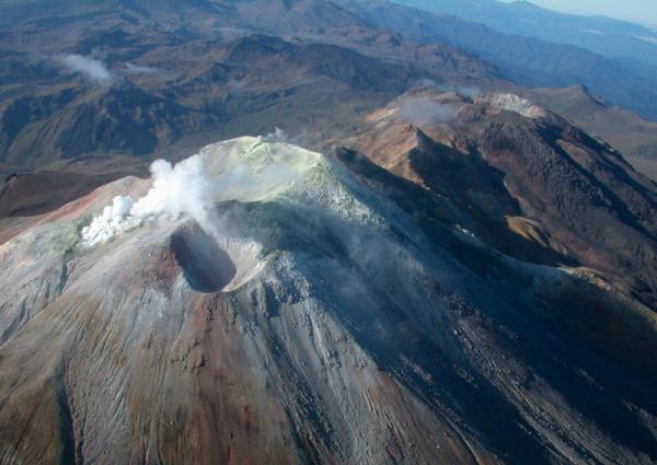 Volcan Cumbal Nariño Colombia; Imagen tomada de internet.