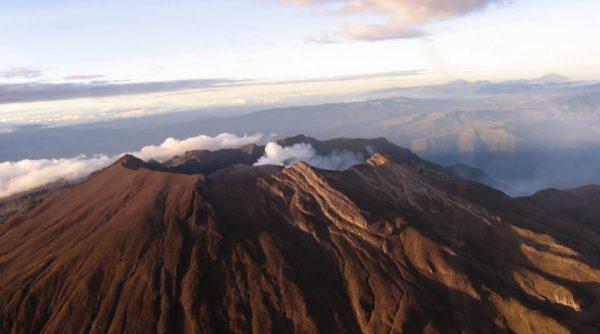 Volcan Galeras; Fotografía tomada de Internet.