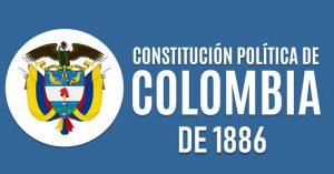 Constitucion politica de Colombia 1886