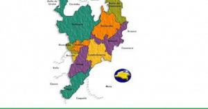 DEPARTAMENTOS DE LA RIGION ANDINA