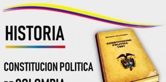 historia de la constitucion politica de colombia