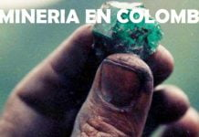 Mapa distribucion Minera en Colombia: Fotografía tomada de internet