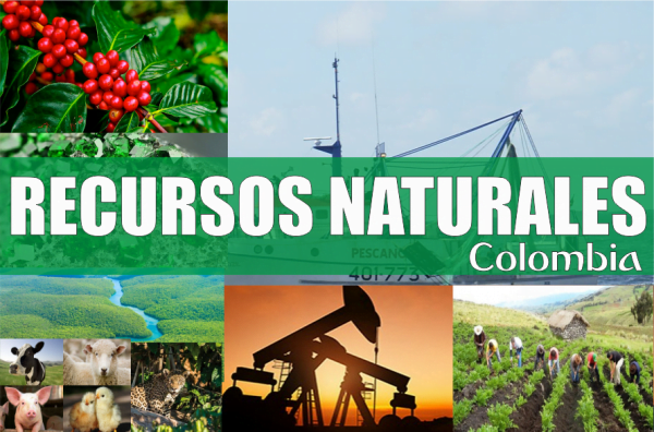 Resultado de imagen para Recursos Naturales de colombia