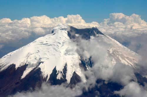 Nevado del Ruiz; fotografía tomada de internet.