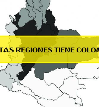 cuantas regiones tiene colombia