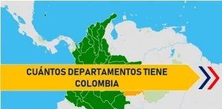 cuantos departamentos tiene colombia