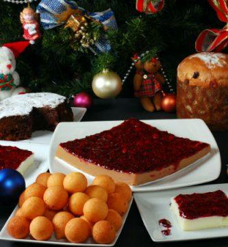 comida navideña colombiana