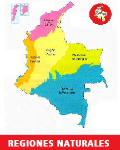 regiones naturales de colombia