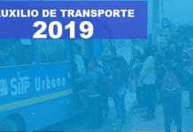 auxilio de trasporte 2019