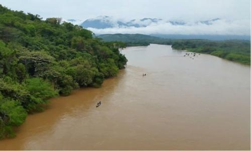PAnoramica del rio Cauca