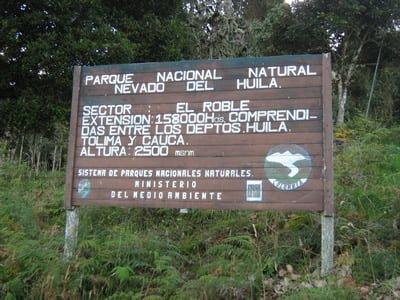 parque nacional del huila