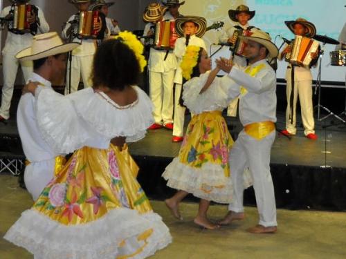 Baile vallenato