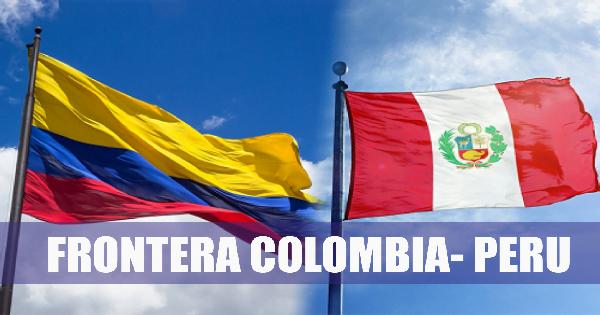 Colombia peru frontera