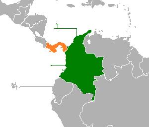 Colombia panama frontera