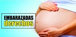 Derecho en embarazadas