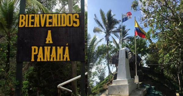 Frontera entre Colombia y panama