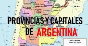 provincias y capitales de argentina