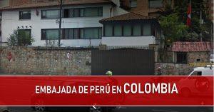 embajada de peru en colombia