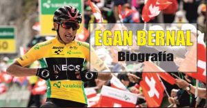 Biografia Egan Bernal