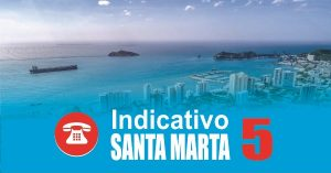 Indicativo Santa Marta