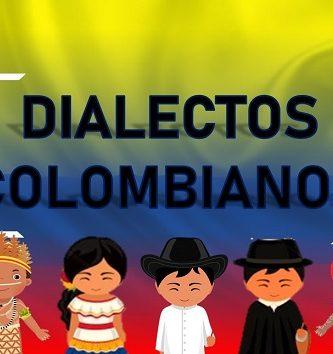dialectos de colombia