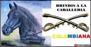 Brindis a la caballería colombiana