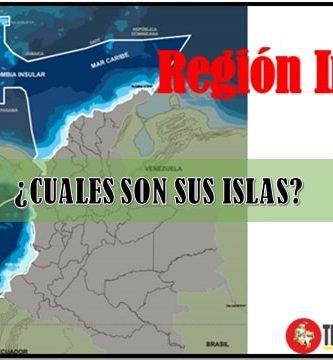 Cuáles son las islas de la región insular