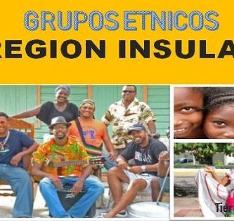 Grupos étnicos – Región Insular