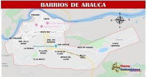 barrios de arauca