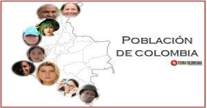 Población de Colombia por departamentos